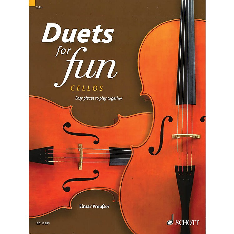 Schott Duets for Fun: Cellos String Ensemble Series Softcover Composed by Various