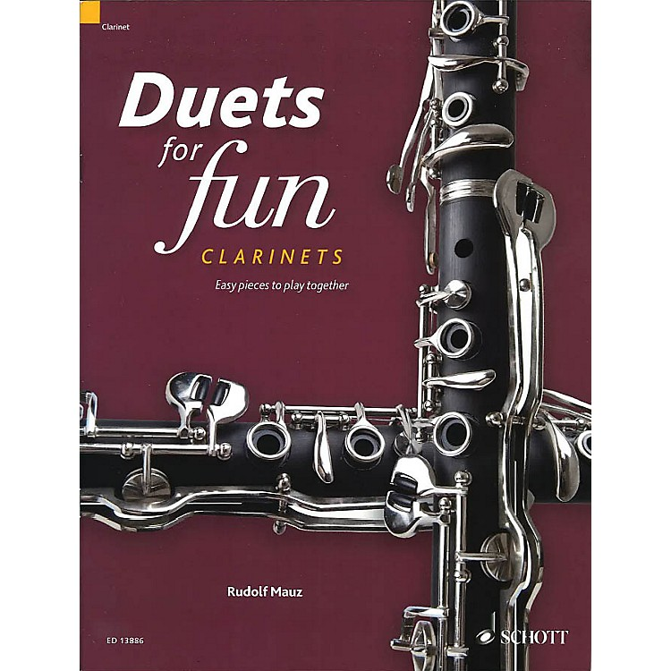Schott Duets for Fun: Clarinets (Easy Pieces to Play Together) Woodwind Ensemble Series Softcover