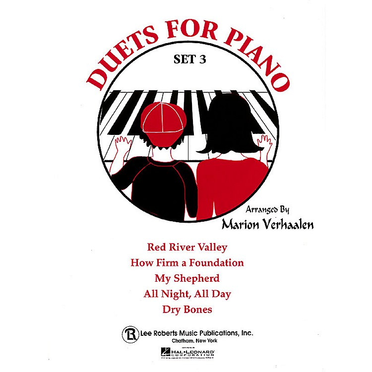 Lee Roberts Duets for Piano - Set 3 Pace Piano Education Series Composed by Robert Pace