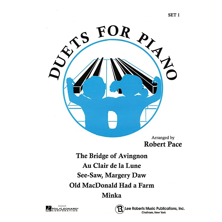 Lee RobertsDuets for Piano - Set I (Duets Blue (Book I)) Pace Piano Education Series