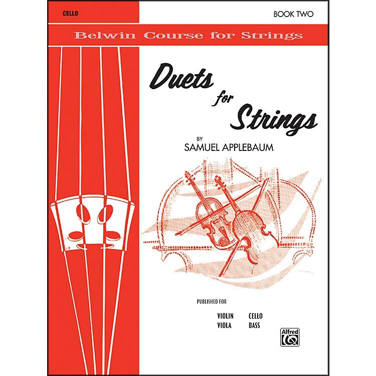 AlfredDuets for Strings Book II Cello