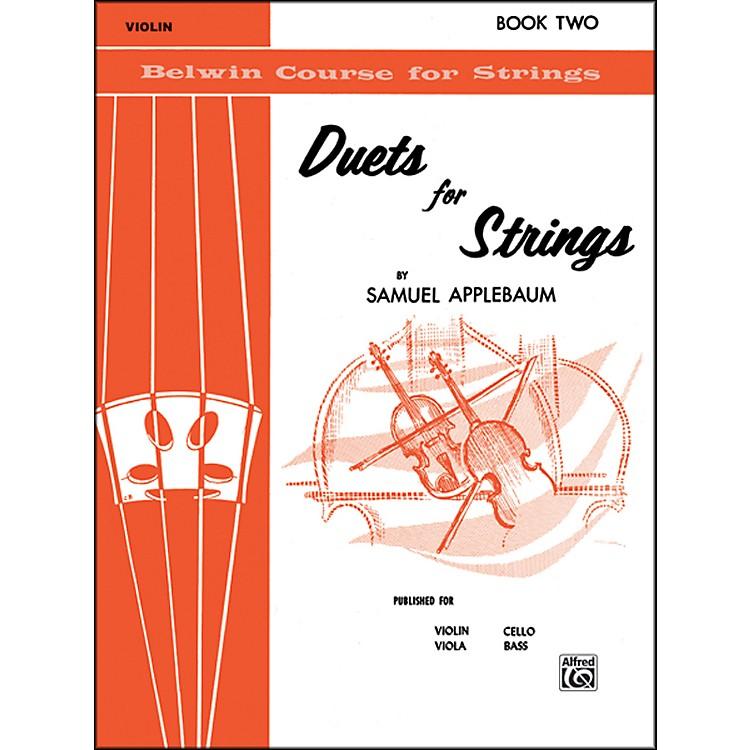 AlfredDuets for Strings Book II Violin