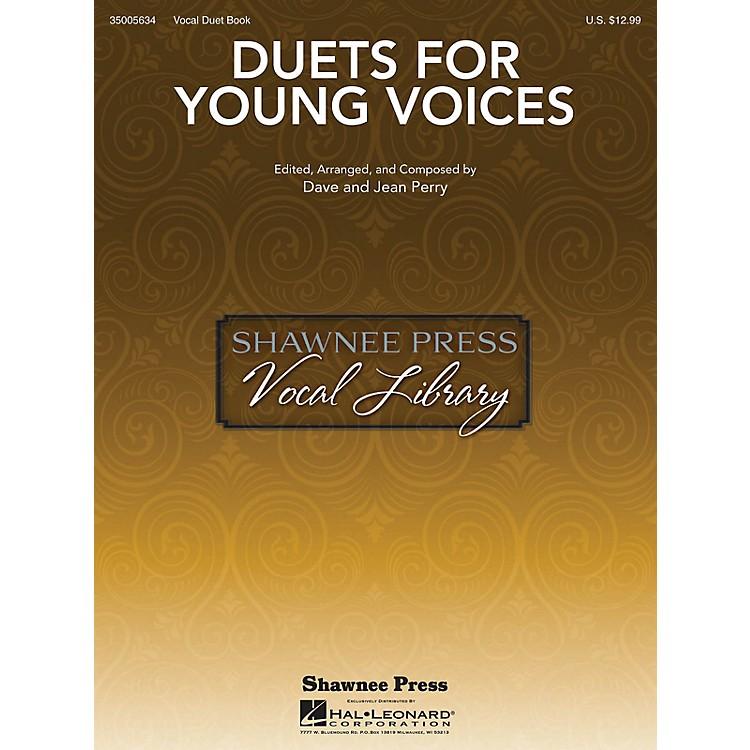 Shawnee PressDuets for Young Voices composed by Dave Perry
