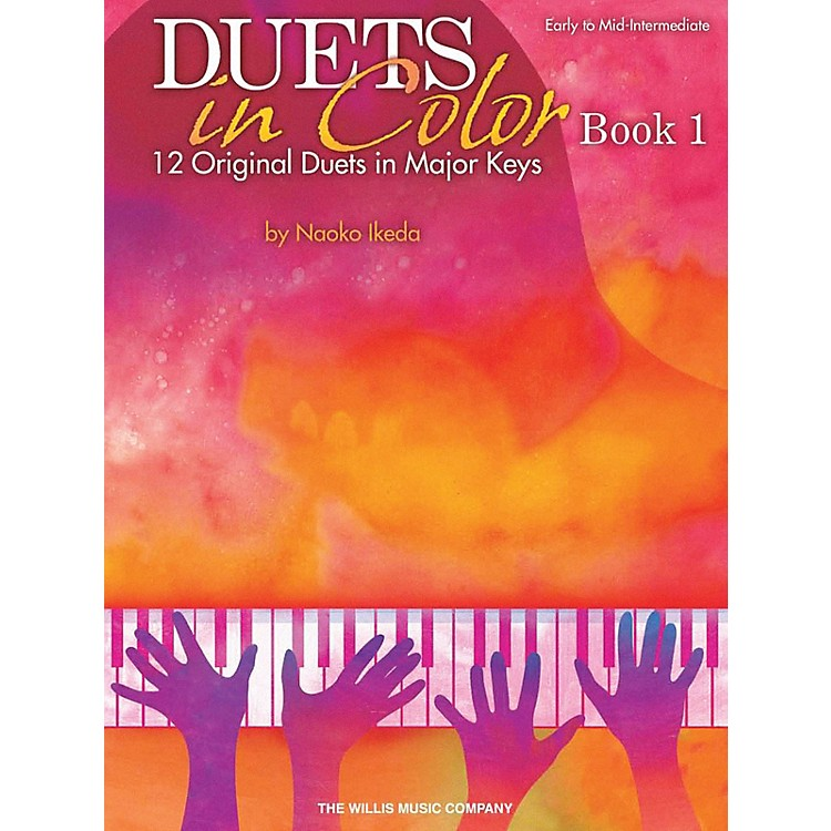 Willis MusicDuets in Color - Book 1 (Early to Mid-Inter Level) Willis Series by Naoko Ikeda