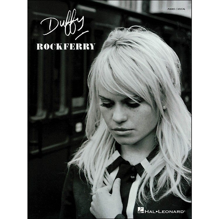 Hal LeonardDuffy - Rockferry arranged for piano, vocal, and guitar (P/V/G)