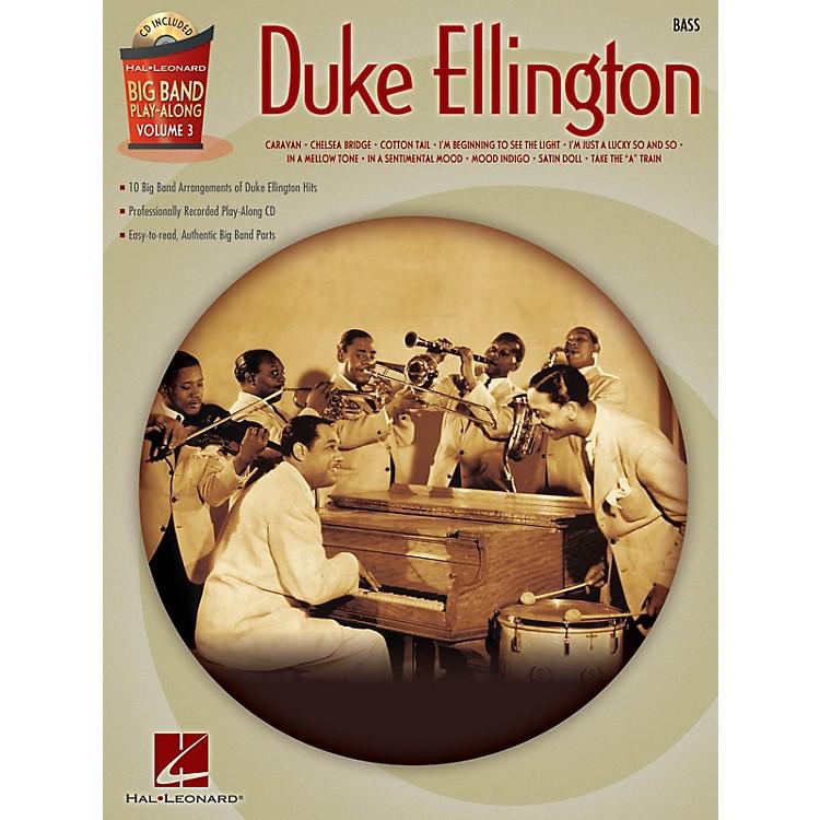Hal LeonardDuke Ellington - Bass (Big Band Play-Along Volume 3) Big Band Play-Along Series Softcover with CD