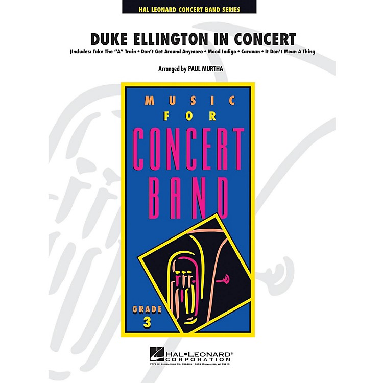 Hal Leonard Duke Ellington in Concert - Young Concert Band Series Level 3 arranged by Paul Murtha