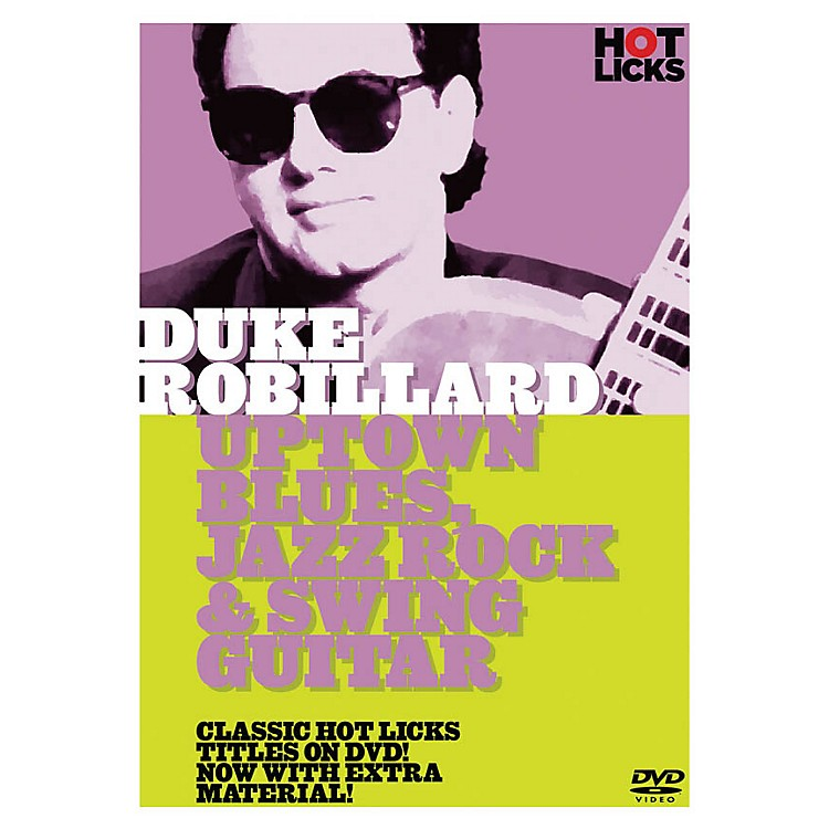 Music Sales Duke Robillard - Uptown Blues, Jazz Rock & Swing Guitar Music Sales America Series DVD by Duke Robillard