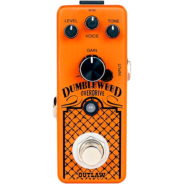 Outlaw EffectsDumbleweed Overdrive Effects Pedal