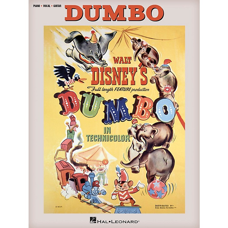 Hal Leonard Dumbo (Music from the Full Length Feature Production) Piano/Vocal/Guitar Songbook