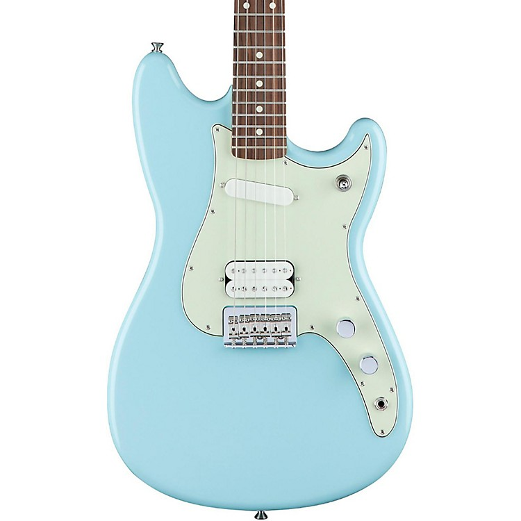 Fender Duo-Sonic HS Rosewood Fingerboard Surf Green