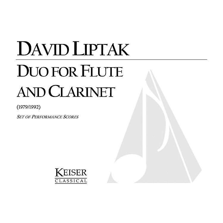 Lauren Keiser Music PublishingDuo for Flute and Clarinet LKM Music Series Composed by David Liptak