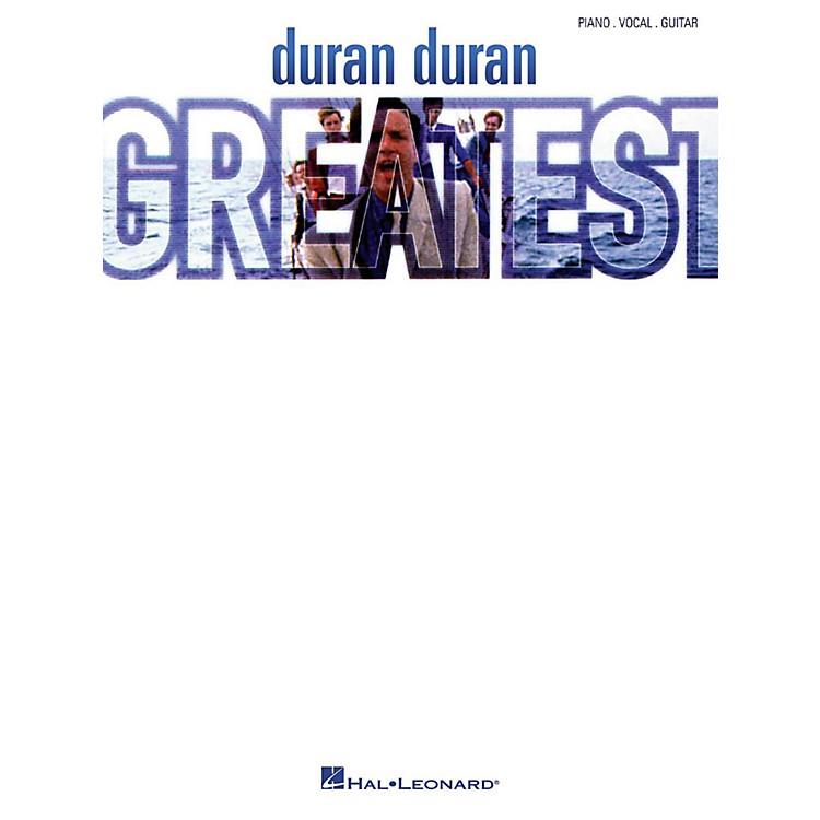 Hal LeonardDuran Duran - Greatest Piano/Vocal/Guitar Artist Songbook