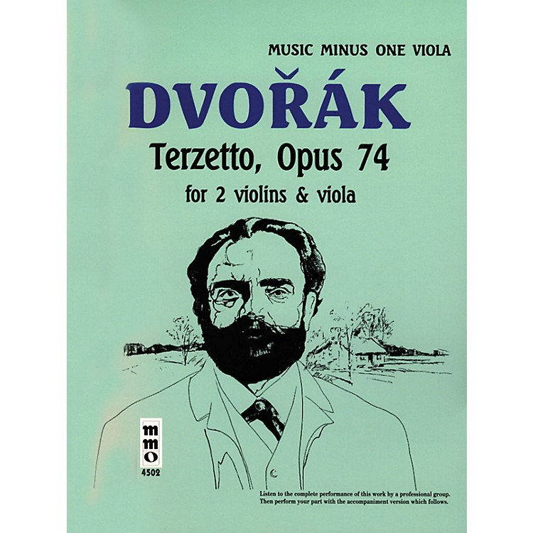 Music Minus OneDvorák - Terzetto in C Major, Op. 74 (Music Minus One Viola) Music Minus One Series Softcover with CD