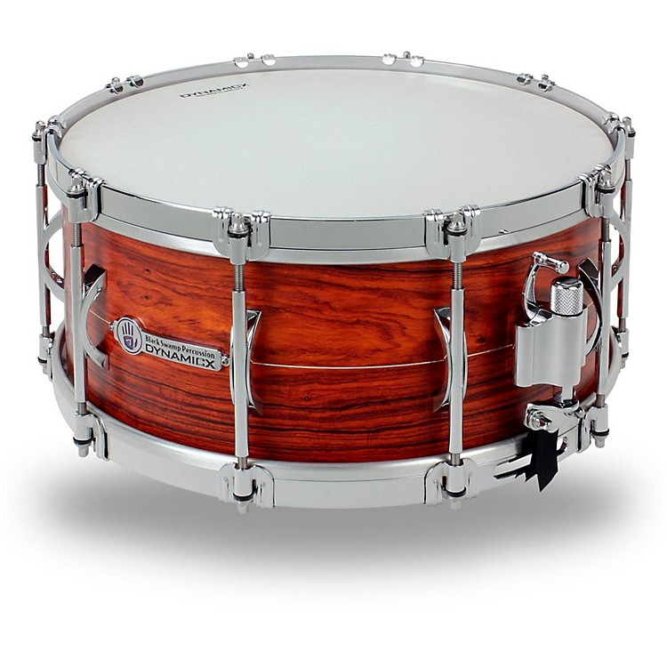 Black Swamp Percussion Dynamicx Sterling Series Series Snare Drum 14x6.5 in. Cocobolo Unibody