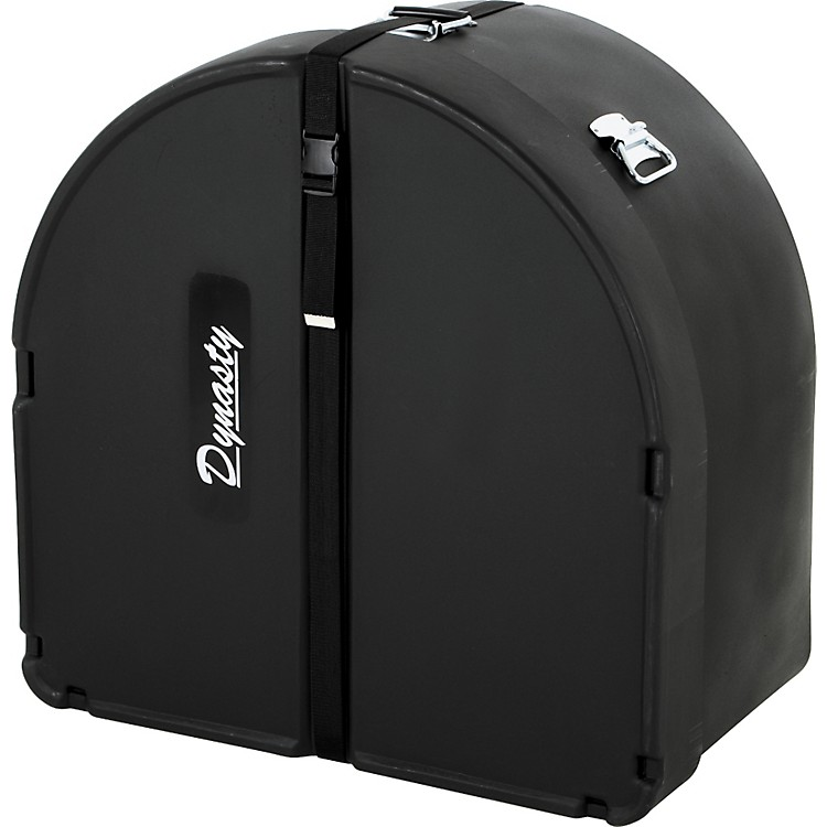 DEG Dynasty Marching Bass Drum Case Black Molded 16 Inch