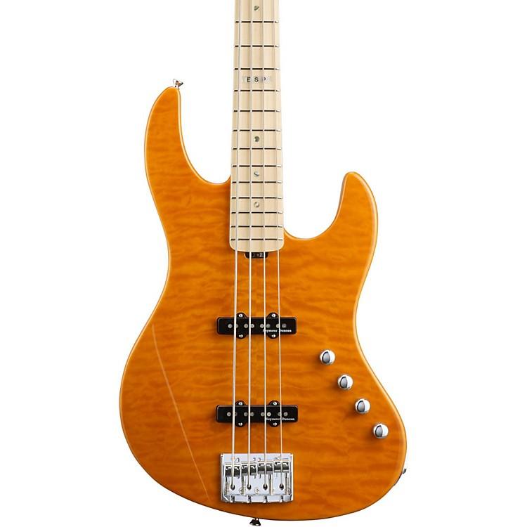 ESPE-II J-4 Electric Bass GuitarAmber