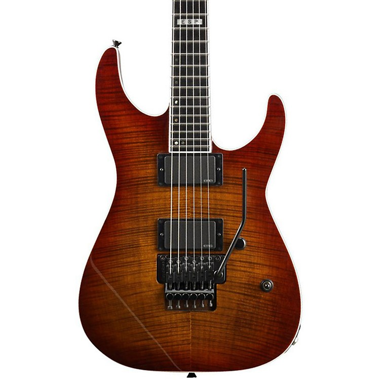 ESP E-II M-2 Electric Guitar Amber Cherry Sunburst