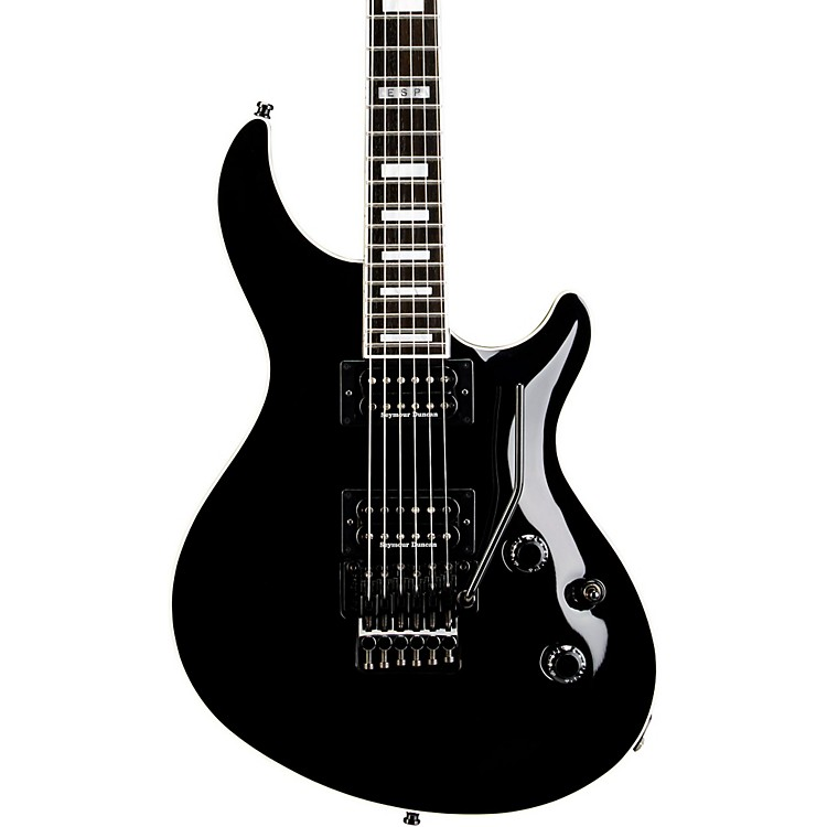 ESP E-II Mystique Electric Guitar with Floyd Rose Black