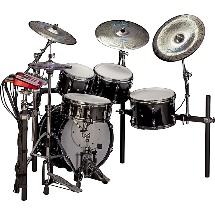 pearl e pro live electronic acoustic drum set with zildjian gen 16 cymbals music123. Black Bedroom Furniture Sets. Home Design Ideas
