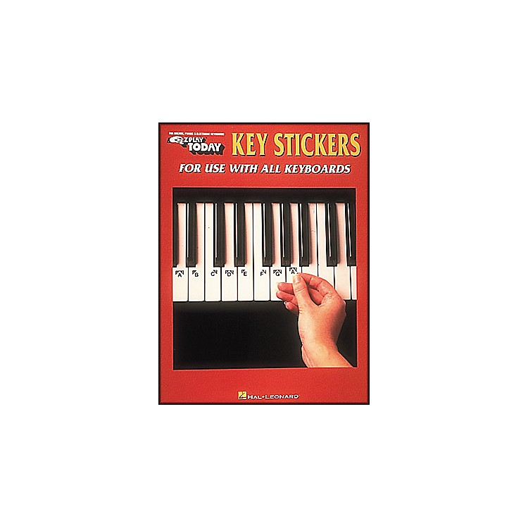 Hal Leonard E-Z Play Key Stickers for Use with All Keyboards