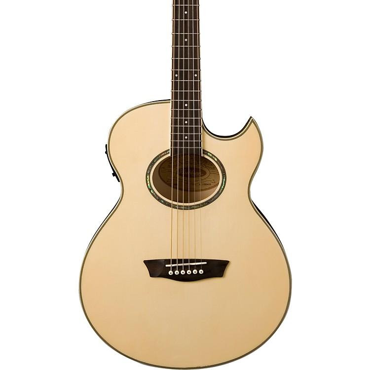 WashburnEA20 Mini Jumbo Acoustic-Electric Guitar