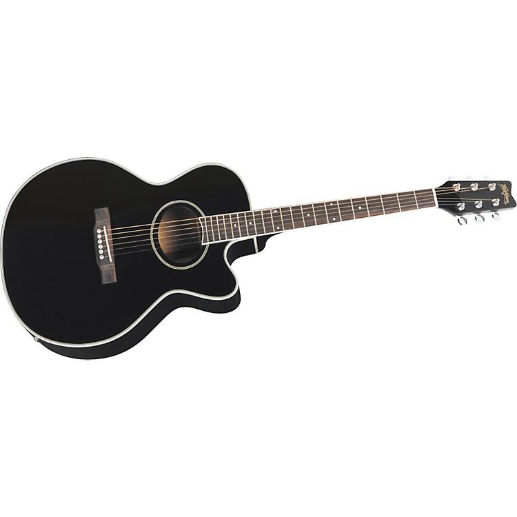 washburn ea8b cutaway acoustic electric guitar music123. Black Bedroom Furniture Sets. Home Design Ideas