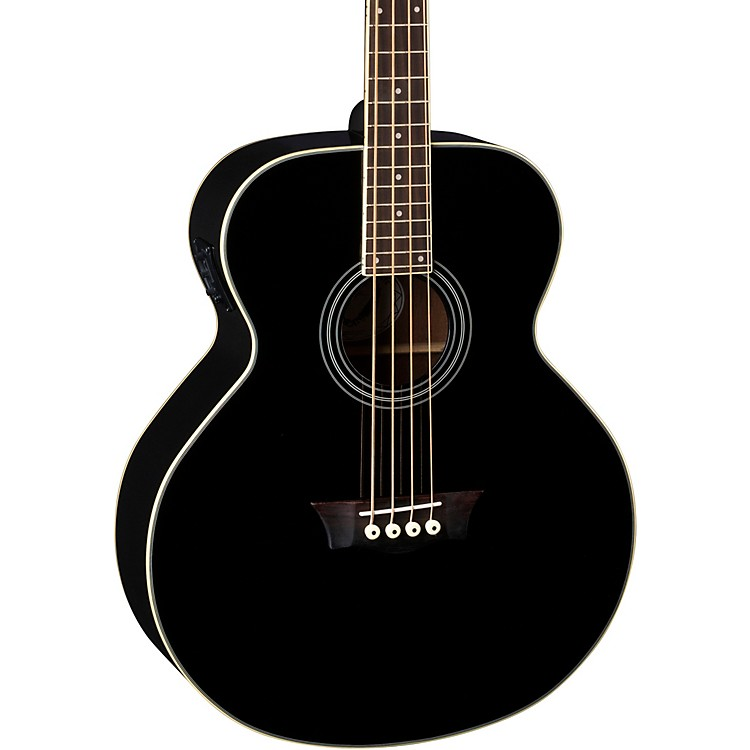 Dean EAB Acoustic-Electric Bass Black