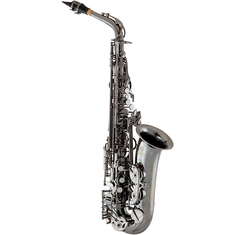 Eastman EAS640 Professional Alto Saxophone Black Nickel Plated Body and Keys