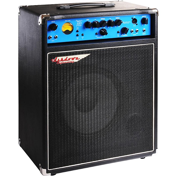 Ashdown EB 12-180 EVO II 180W 1x12 Bass Combo Amp Black with Blue Face 886830623790