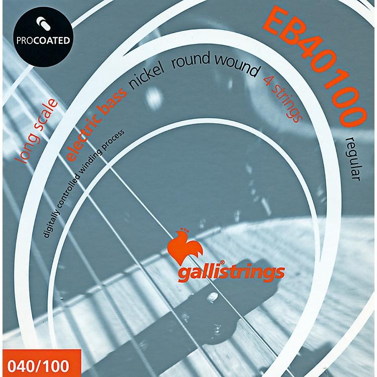 Galli StringsEB40100 PROCOATED Regular Bass Strings 40-100
