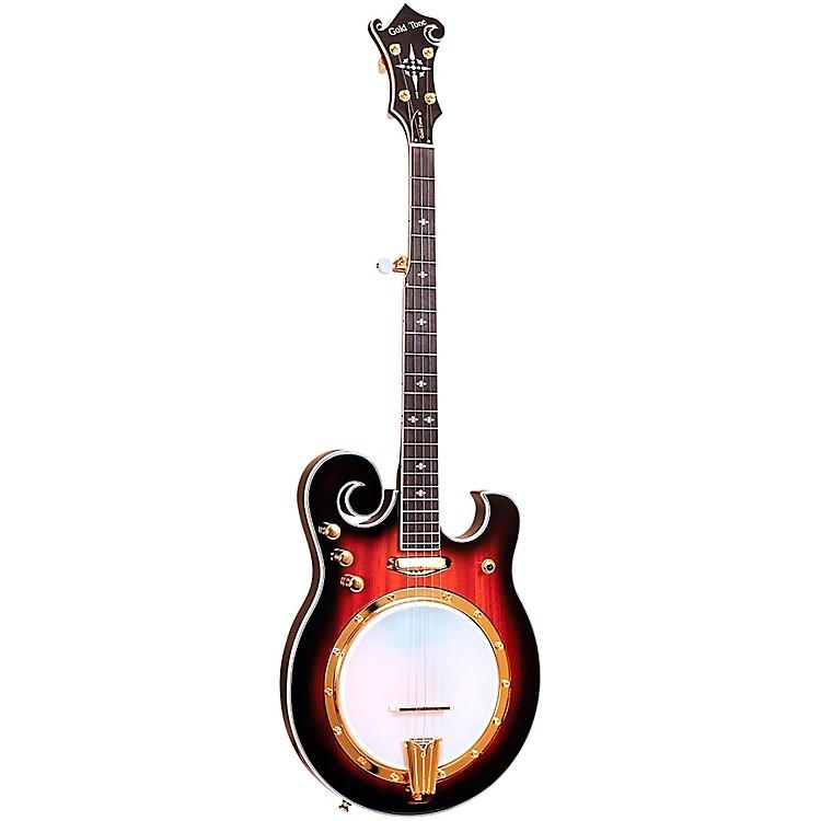 Gold ToneEBM-5 Electric Solidbody 5-String Banjo For Left Hand PlayersSunburst