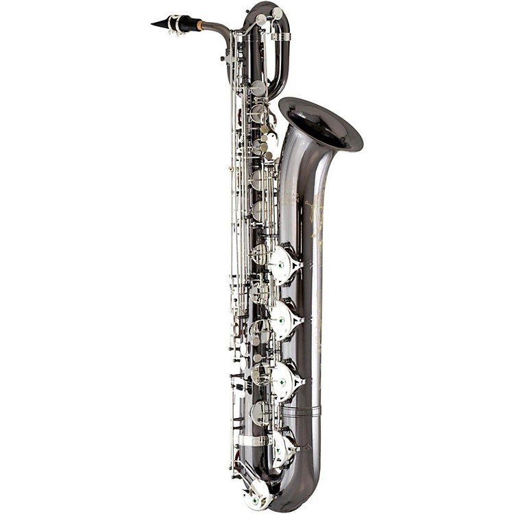 Andreas Eastman EBS640 Professional Baritone Saxophone Black Nickel Plated Body with Silver Plated Keys
