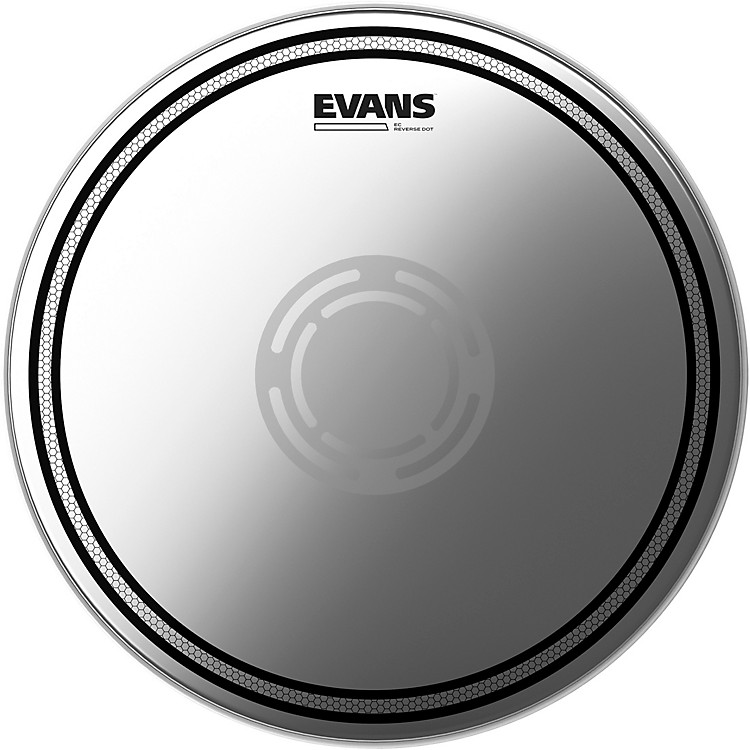 Evans EC Reverse Dot Coated Snare Batter Head  12