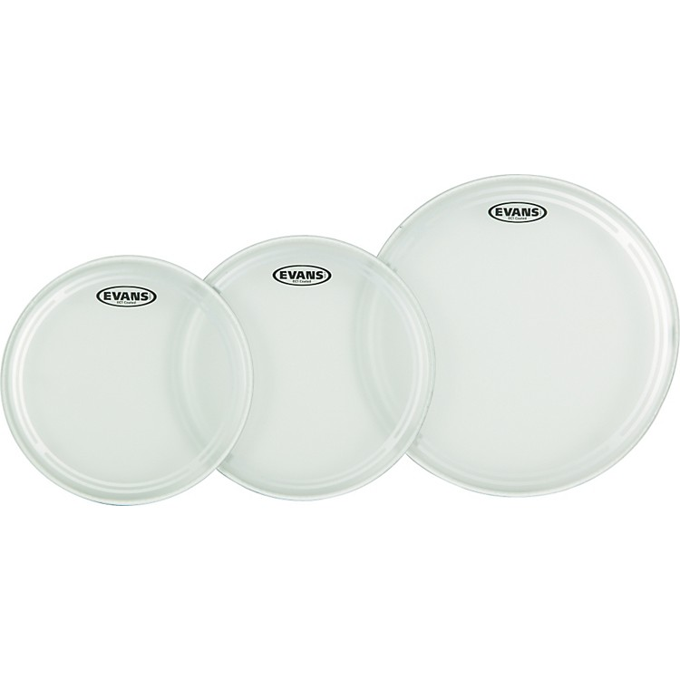 Evans EC1 Coated Fusion Drumhead Pack