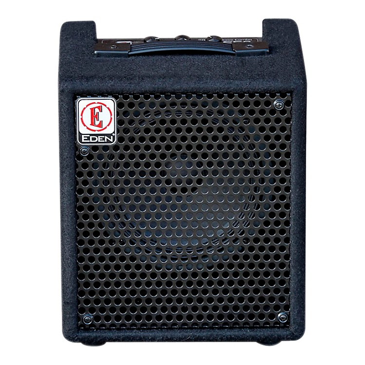 Eden EC8 20W 1x8 Solid State Bass Combo Amp Black