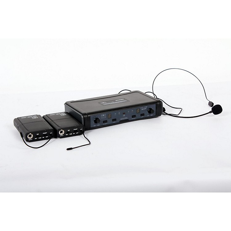 Galaxy AudioECD Dual Channel UHF Wireless System with Dual Headset MicrophonesBand D888365743189