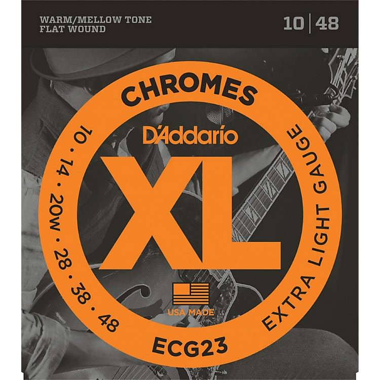 D'Addario ECG23 Chrome Extra Light Electric Guitar Strings