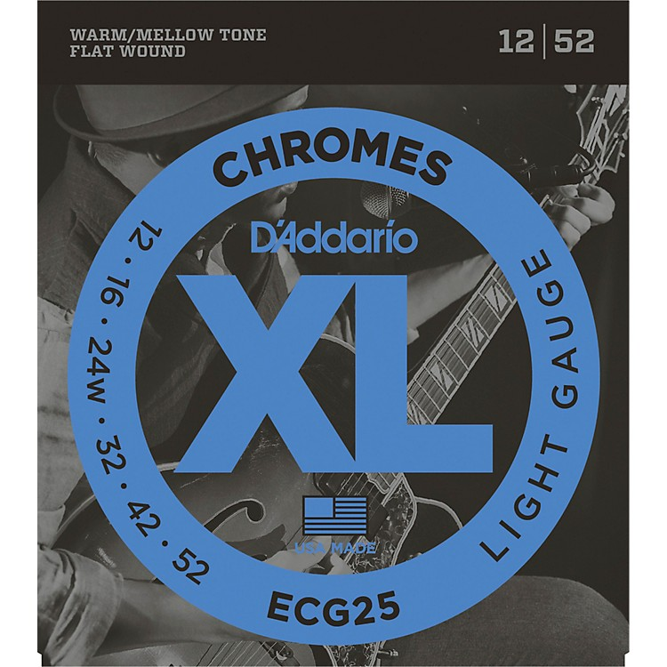 D'Addario ECG25 Chromes Light Electric Guitar Strings