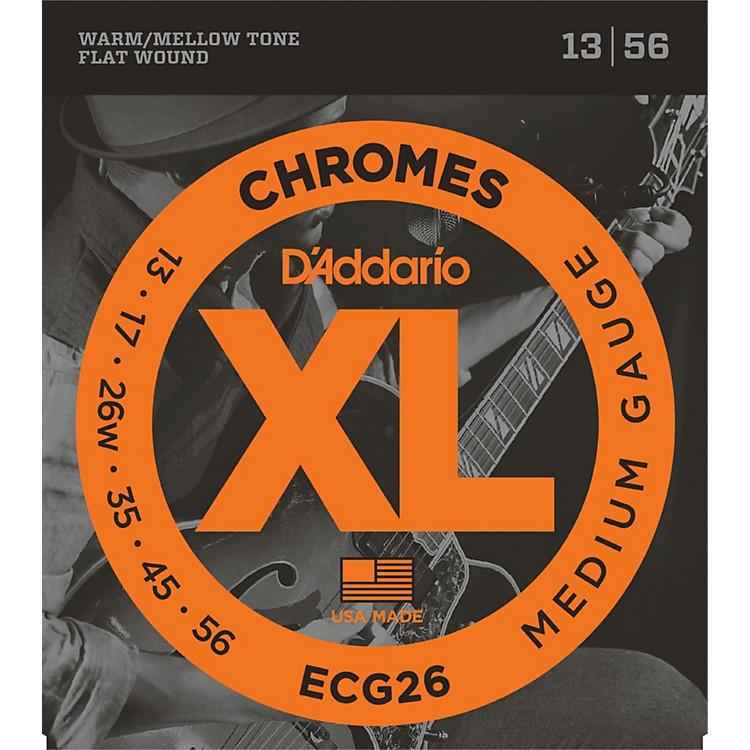 D'AddarioECG26 Chromes Medium Gauge Electric Guitar Strings