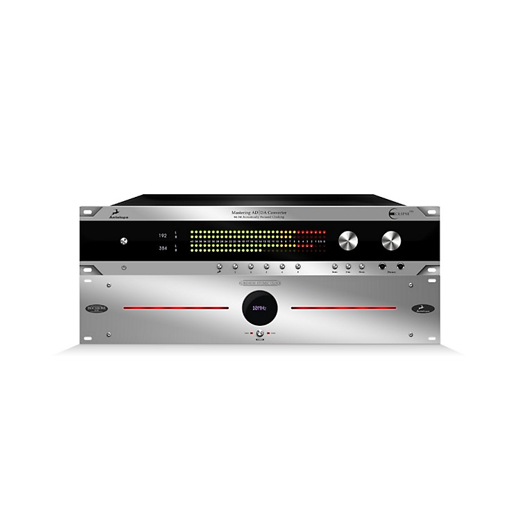 Antelope Audio ECLIPSE 384 Mastering AD/DA Converter & Isochrone 10M Ultra Stable Oscillator Bundle