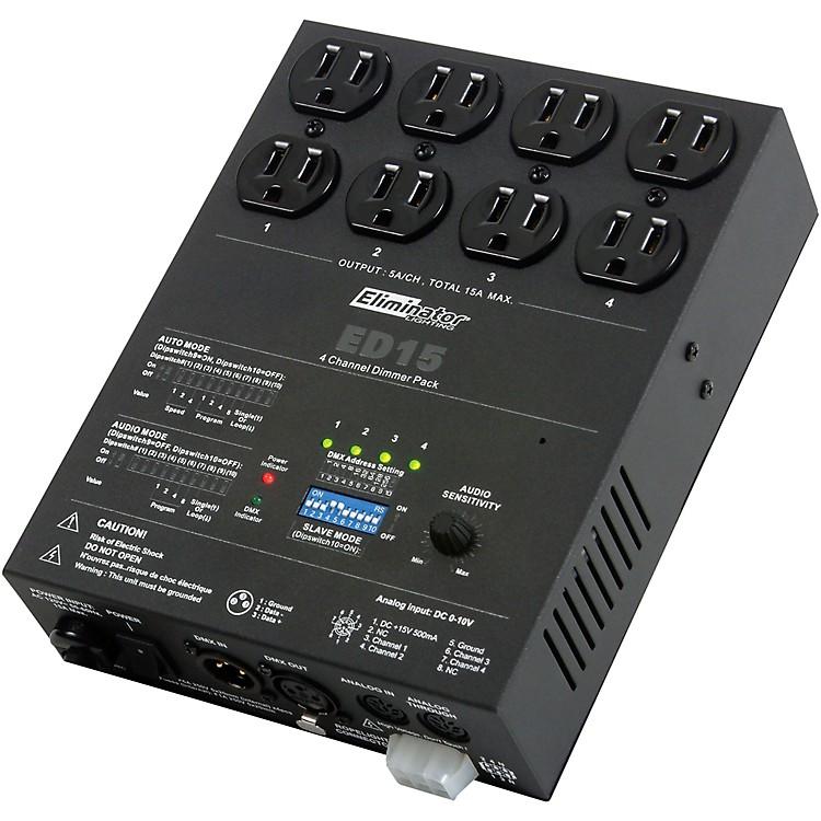 Eliminator LightingED-15 4-Channel DMX Lighting Dimmer Pack