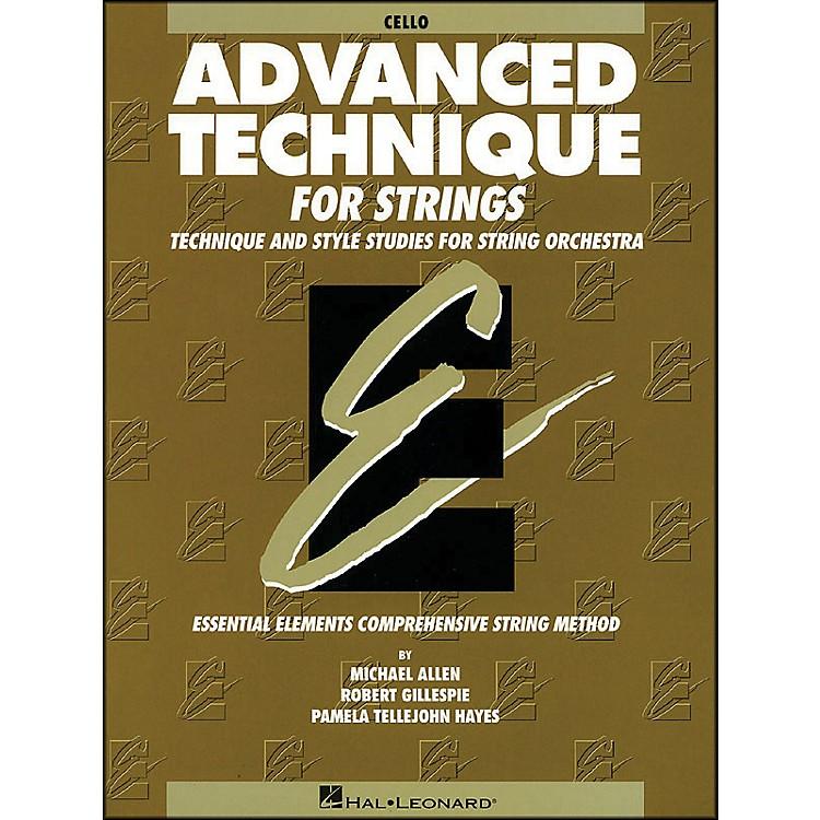 Hal LeonardEE Advanced Technique for Strings Cello