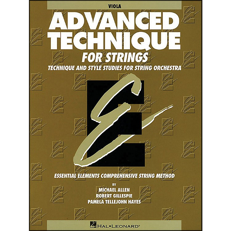 Hal LeonardEE Advanced Technique for Strings Viola