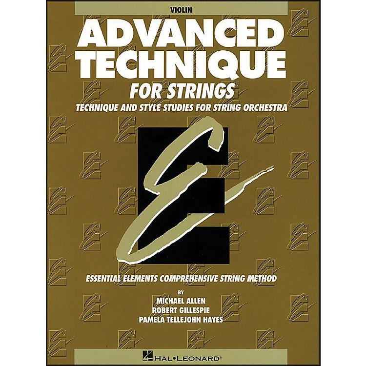 Hal LeonardEE Advanced Technique for Strings Violin