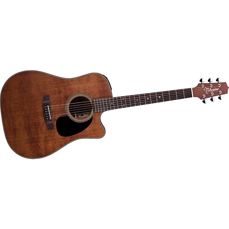 Takamine EF340SCGN Dreadnought Antique Acoustic-Electric Guitar Natural 886830686313