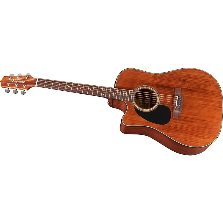 TakamineEF340SCGN-LH Dreadnought Left-Handed Acoustic-Electric Guitar