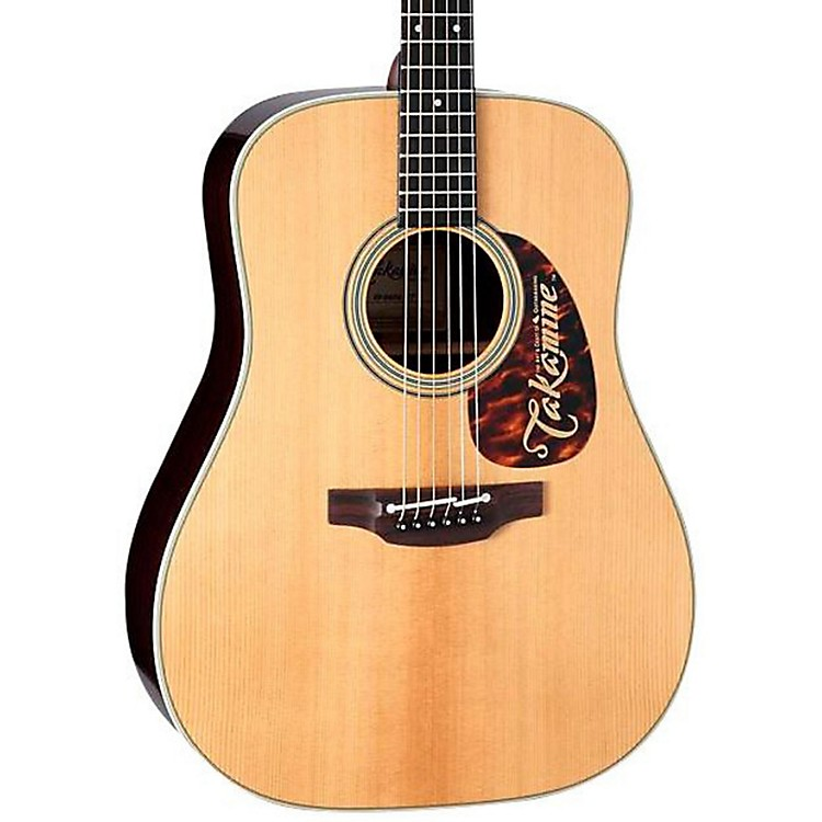 Takamine EF360S Thermal Top Dreadnought Acoustic-Electric Guitar Natural