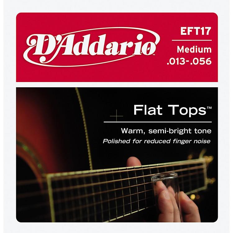 D'AddarioEFT17 Flat Top PB Medium Acoustic Guitar Strings