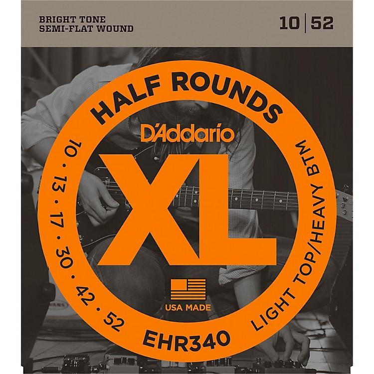 D'AddarioEHR340 Half Round Light Top Heavy Bottom Electric Guitar Strings